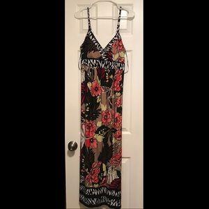 Roz & Ali Tropical Maxi Dress